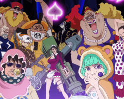 "Episode 324, ""Doflamingo and His Schmucks"""