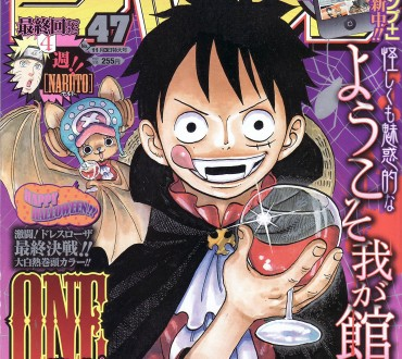 Luffy and Chopper Rank 5th and 1st in Halloween Costume Survey