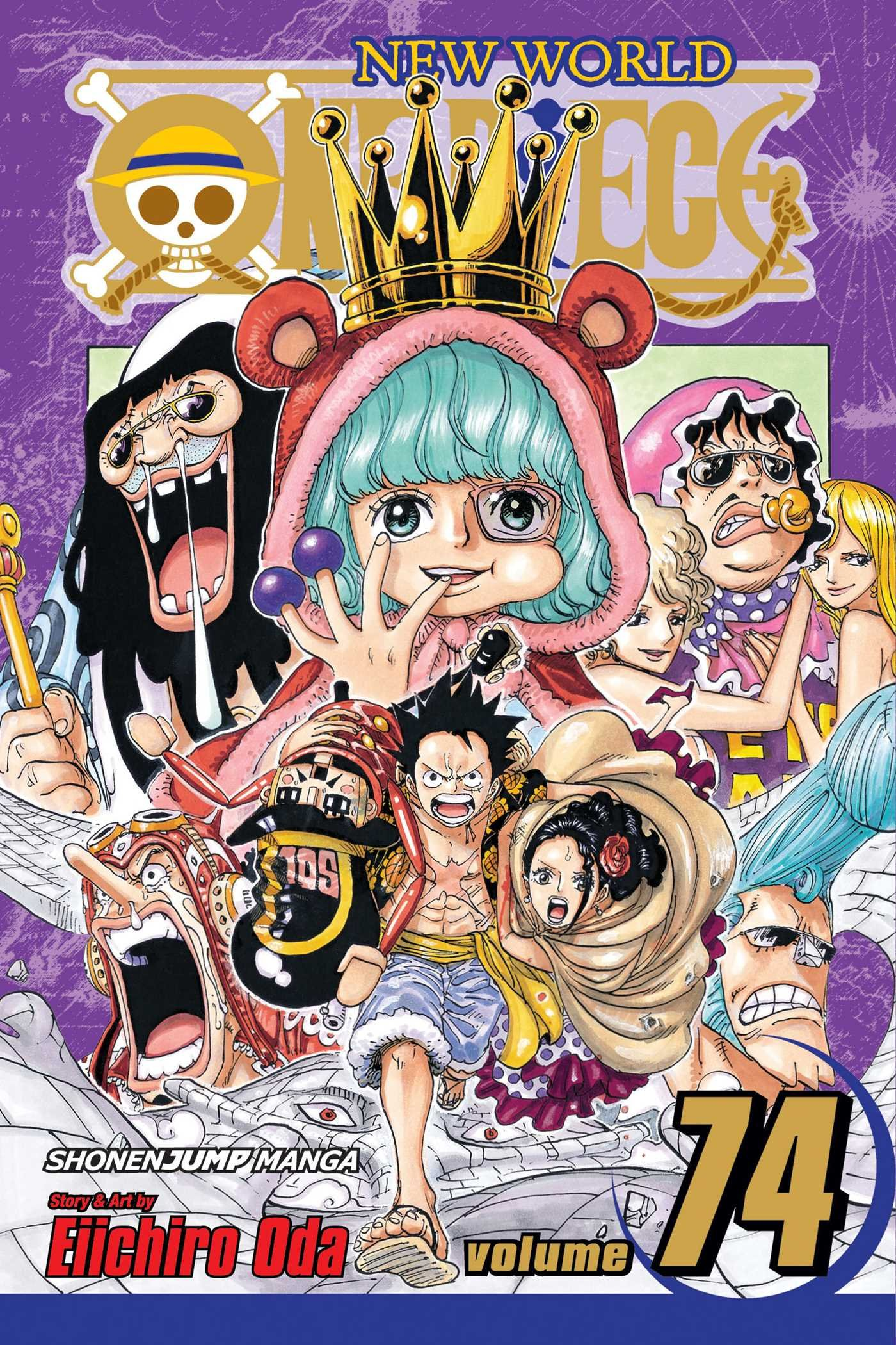 English Cover For One Piece Volume 74