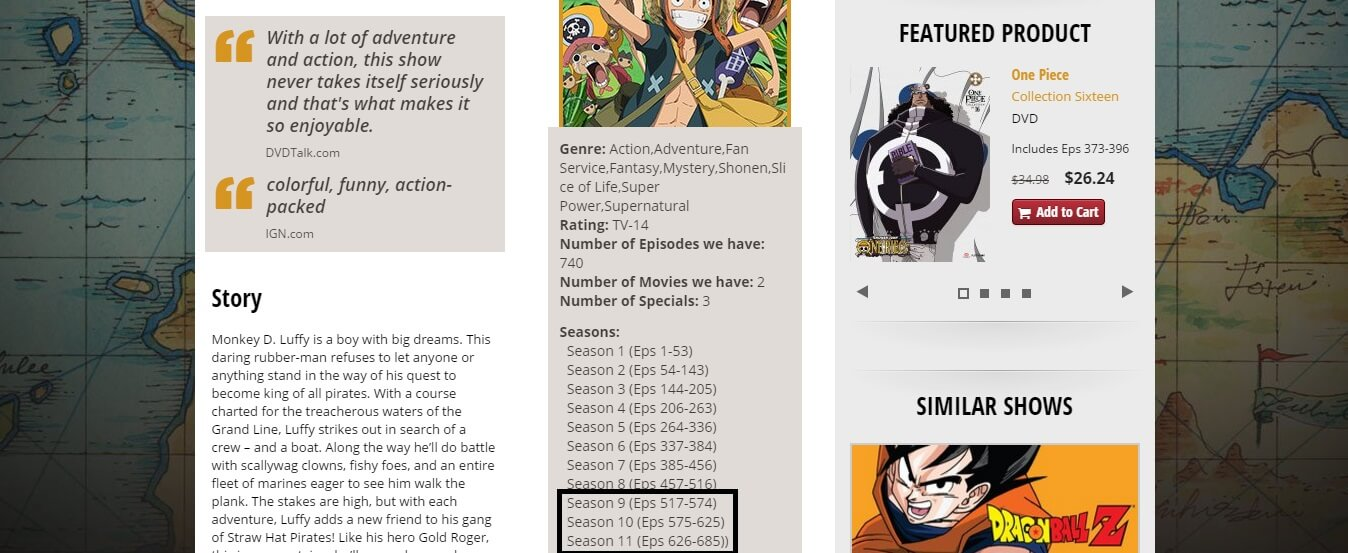 FUNimation Hints at Plans for New One Piece Content